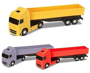 Caminhão Voyager Caçamba Basculante 42cm - Roma Brinquedos
