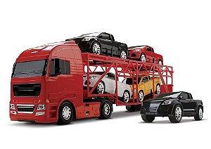 Diamond Truck Cegonheira Cegonha 66cm - Roma Brinquedos