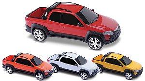 Carrinho Pick-up Fiat Strada Adventure - Roma Brinquedos