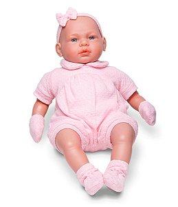 Boneca Bebê Real- C/ Certidão De Nascimento- Roma Brinquedos