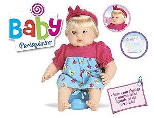 Boneca Baby Peniquinho Faz Xixi De Verdade - Roma Brinquedos