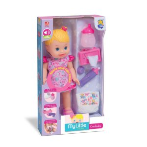 Boneca My Little Collection Cuidados -fala Frases- Divertoys