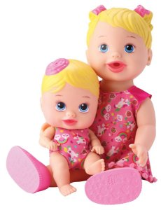 Boneca My Little Colection Alive Tal Mãe Tal Filha Divertoys