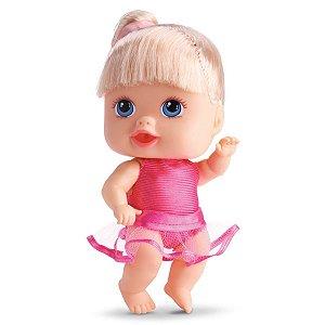 Boneca Bebê Little Dolls Alive Bailarina - 19cm - Divertoys
