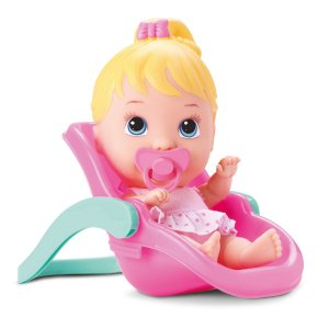 Boneca Bebê Little Dolls Alive Conforto - Divertoys