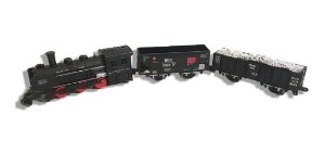 Trem Trenzinho Real Train Ferrorama C/ 13 Peças - Zoop Toys