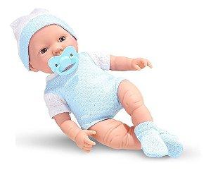 Boneca Bebezinho Real Primeiros Cuidados Gêmeos Menino- Roma