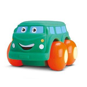 Carrinho Coleção Soft Cars - P/ 3 Meses Ou Mais - Divertoys