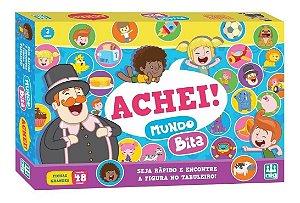 Jogo Achei Mundo Bita - C/ 48 Peças - Raciocínio Lógico - Nig