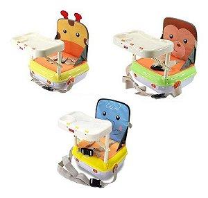 Cadeira De Alimentação P/ Bebês Portátil Com Som - Zoop Toys