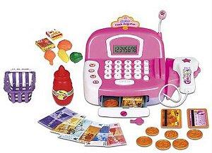 Caixa Registradora Infantil C/ Acessórios, Som E Luz - Zoop