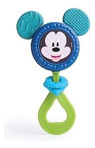 Mordedor E Chocalho Mickey Mouse Para Bebê - Elka