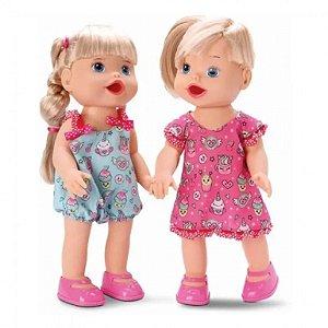 Bonecas My Little Gêmeas - Come E Faz Caquinha - Divertoys