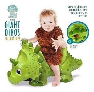 Dinossauro Tricerátops Gigante Infantil Giant Dino - Roma