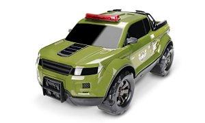 Carrinho Pick-up Force Militar - C/ Giroflex 40cm - Roma