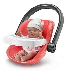 Bebê Conforto C/ Boneca Roma Babies - Dia De Passeio - Roma
