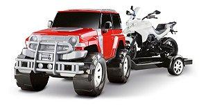 Carrinho Infantil - Render Force - Carro E Moto - Roma