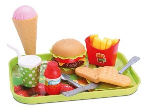 Comidinha de Brinquedo - Kit Hora do Lanche - Samba Toys