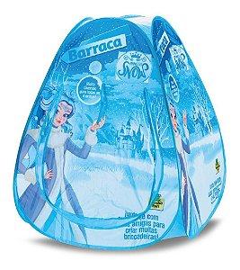 Toca Barraca Princesas Snow - C/ Bolsa - Samba Toys