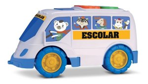Tchuco Baby Escolar - Ônibus Didático P/ Bebês - Samba Toys