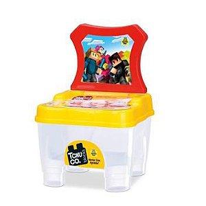 Tchuco Blocos De Montar Cadeirinha - P/ Bebês - Samba Toys