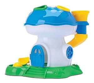 Tchuco Baby Os Smurfs Cogumelo Didático - P/ Bebês - Samba