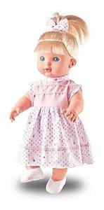 Boneca Shayane - Fala 62 Frases - C/ 34cm - Milk Brinquedos