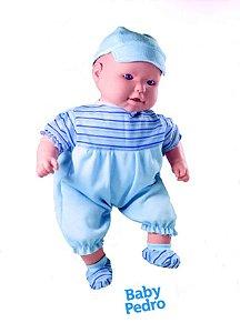 Boneca Cheirinho De Neném  Baby Pedro - Milk Brinquedos