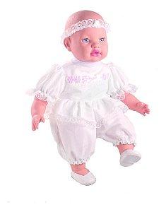 Boneca Baby Minha Primeira Oração - Ora O Pai Nosso - Milk