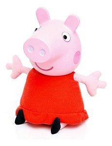 Pelúcia Peppa Pig Com Som - C/ 30cm De Altura - Estrela