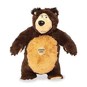 Pelúcia Urso 40cm - Masha E O Urso - C/ Som - Estrela