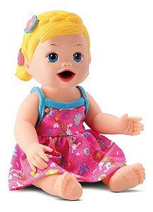 Boneca My Little - Primeira Papinha - Loira - Divertoys