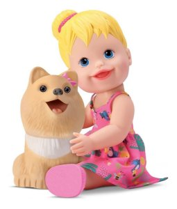 Boneca My Little My Pet - Come E Faz Caquinha - Divertoys