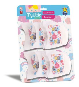 Kit 6 Fraldinhas Fralda P/ Bonecas - My Little - Divertoys