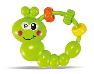 Chocalho Lagartinha P/ Bebês - Zoop Toys
