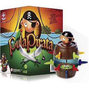 Jogo Pula Pirata com Realidade Aumentada - Estrela