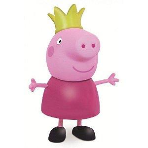 Boneca Peppa Pig Peppa Princesa - 15cm - Elka