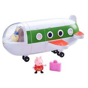 Avião da Peppa Pig 23cm + Boneco da Peppa Pig - Sunny