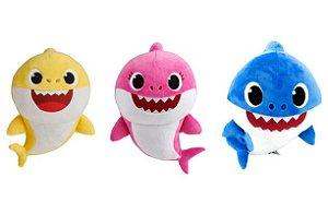 Pelúcia Baby Shark Canta Música - C/ 30CM - Sunny