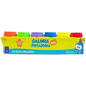 Kit Minha Massinha - Galinha Pintadinha - 6 potes - Sunny