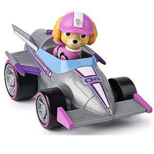 Patrulha Canina Carro de Corrida Skye c/ Som - Sunny