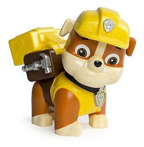 Boneco Rubble 15cm Patrulha Canina - Jumbo Action Pup- SUNNY