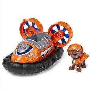 Veículo + Figura Zuma Hovercraft - Patrulha Canina - Sunny