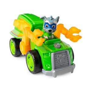Veículo + Figura Rocky Mighty Pups - Patrulha Canina - Sunny