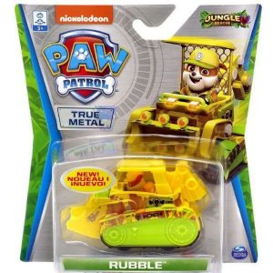 Carrinho Metal Rubble Jungle Rescue- Patrulha Canina - Sunny