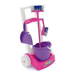 Kit de Limpeza Infantil C/ Acessórios - Mobi Car - Usual