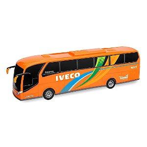 Ônibus Miniatura Réplica Iveco - 45cm - Usual Brinquedos