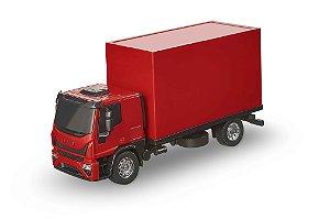 Caminhão Iveco Baú - C/ Acessórios - 26cm - Usual Brinquedos