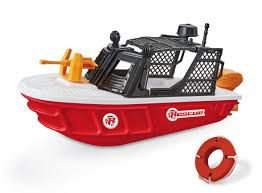Barco Rescue Team Resgate - Barco Salva Vidas - 33cm - Usual