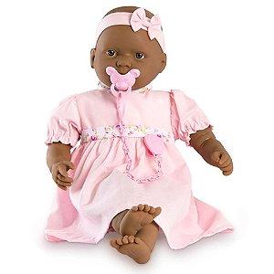 Boneca Bebê Negra Baby By Roma - 48cm - Roma Brinquedos